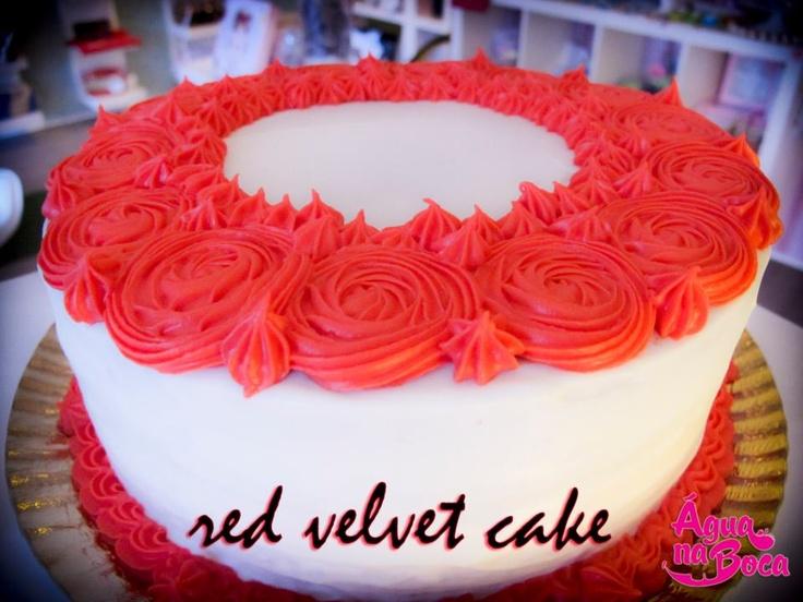 Design Of Red Velvet Cake : 70 best images about Cake Design on Pinterest Birthday ...
