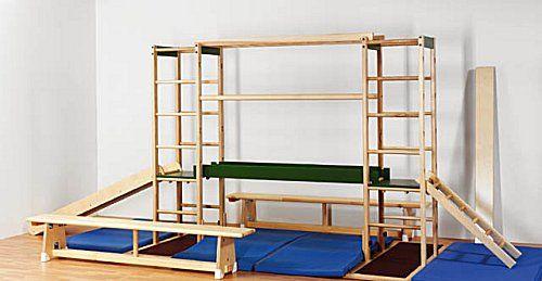 """""""Erzgebirge"""" Children's Play and Gymnastics Apparatus"""