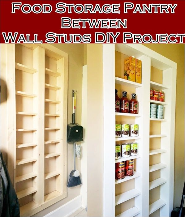 Built In Kitchen Pantry Ideas: 17 Best Ideas About Wall Pantry On Pinterest