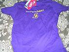 For Sale - NWT NBA Ladies Los Angeles Lakers XL 12/14 T Shirt $30