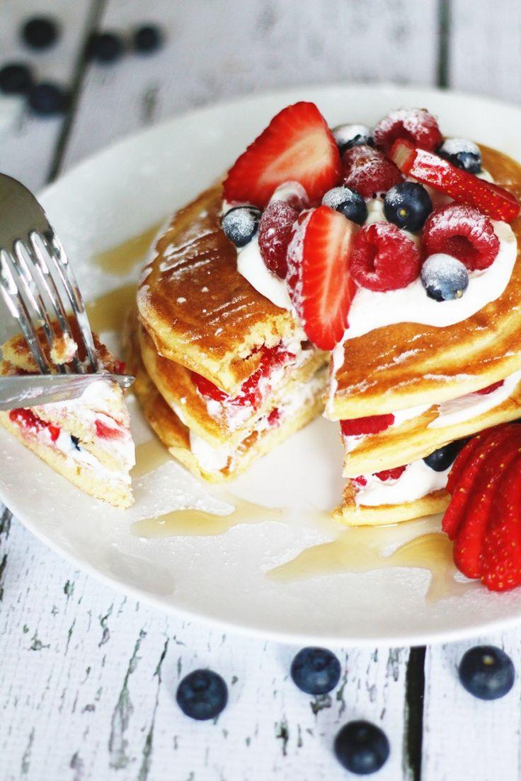 Yummy zoella pancakes | Jaimie Oliver recipie ❤️ SOOO good