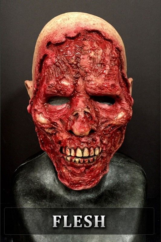 Road Rash Silicone Half Mask