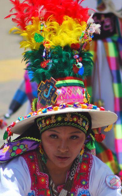 Carnaval de Oruro, Bolivia. By jmalfarock, en flickr, tomada 10-II-2013.