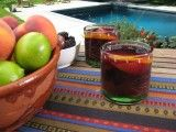 Cooking Channel serves up this Sangria Sunrise recipe from Bobby Flay plus many other recipes at CookingChannelTV.com