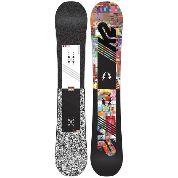 Think outside the box when you step onto the K2 Subculture Snowboard for men. Take control and set your bar high with this stylish and technically sound board beneath your feet. Optimizing your performance is it's number one concern, and it throws the style you love right in. Providing tons of pop thanks to the Lifted design that offers a camber feel, but keeps the effortless precision of a flat board, you can ride with confidence anywhere the snow takes you. The Hybritech construction of...