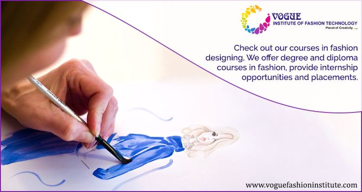 """""""I don't design clothes. I design dreams."""" — Ralph Lauren If you have similar aspirations in #life, then check out our courses in fashion designing. We offer degree and diploma courses in fashion, provide internship #opportunities and #placements. #fashion #designing #diploma #degree #courses #fashiondesign #passionforfashion #vogueinstitute #followyourdreams #design https://goo.gl/fDoasR"""
