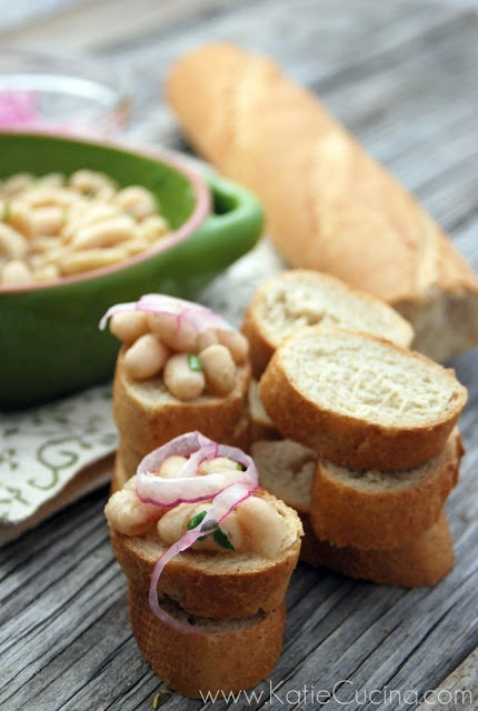 White Bean Bruschetta Recipe — Dishmaps