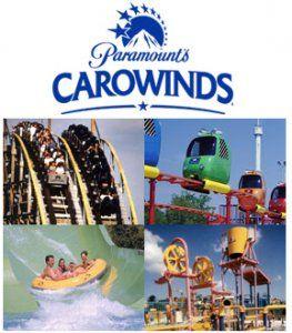 Paramount's Carowinds Amusement Park - Charlotte NC