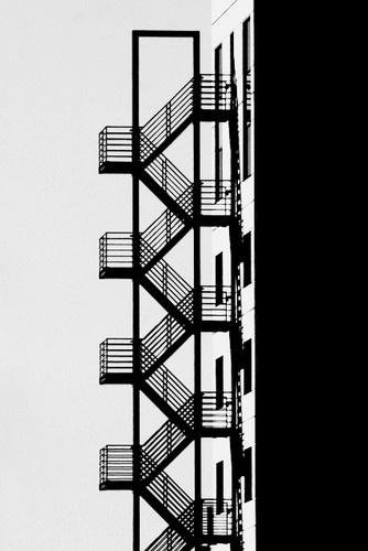 emergency stairs - amsterdam byivo mathieu gaston