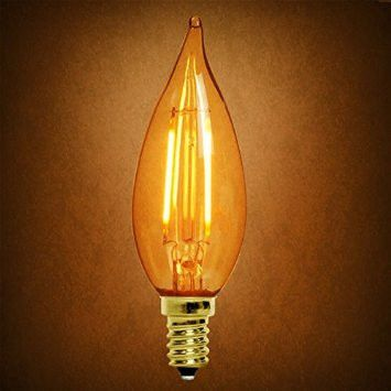 10 best led chandelier light bulbs images on pinterest bulb archipelago vintage led filament chandelier bulb candelabra 2w 40 wat led light bulbs aloadofball Image collections