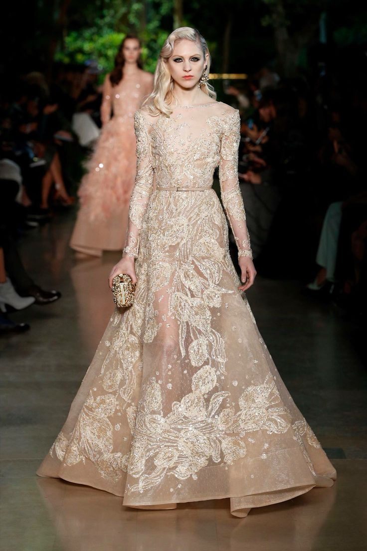 Elie Saab Haute Couture SS15 fashion show