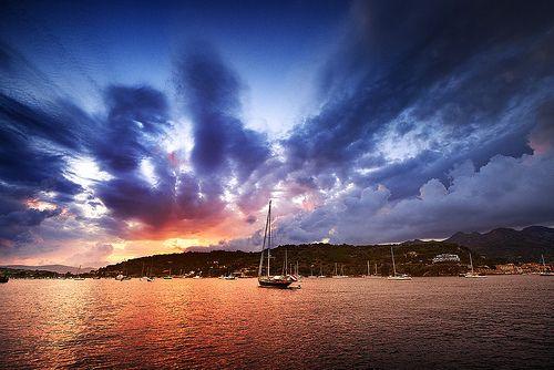 [Explored] Sunset in Porto Azzurro, Elba island