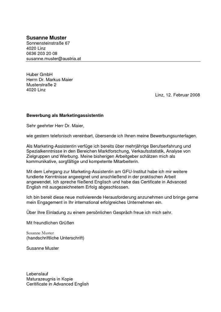 muster bewerbungsschreiben 2009