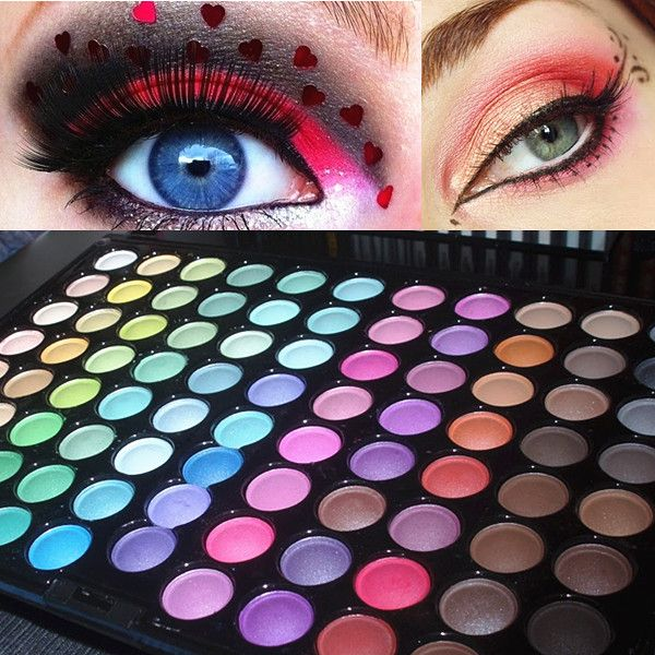 $28.80 88 Colors Shimmer Eye Shadow With Mirror Pro Makeup Palette Cosmetic-P88 - BornPrettyStore.com