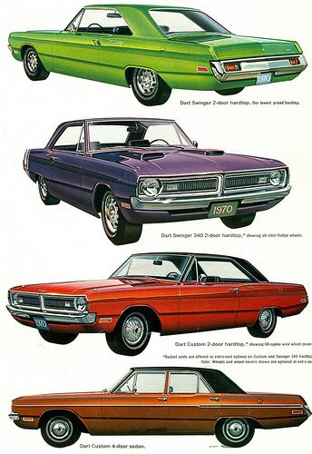 1970 Dodge Dart Range The top one looks like mine would without the rust or dents...