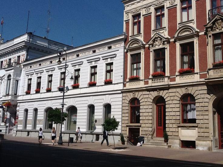 Lodz(Polen)- Piotrkowskastraat
