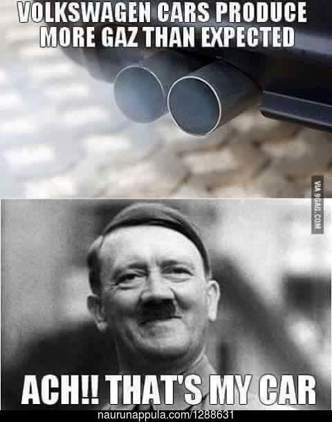 Volkswagen kaasuttelee