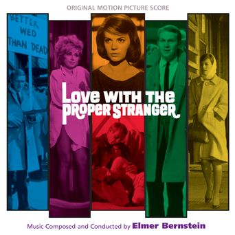 Two Elmer Bernstein scores: Love With A Proper Stranger & A Girl Named Tamiko