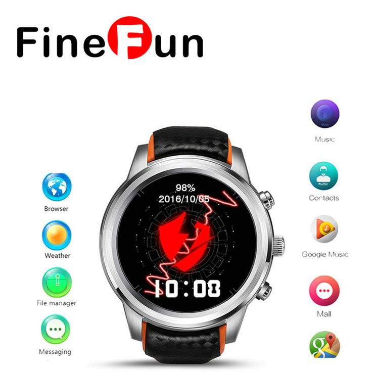 LEM5 Smart Watch Android 5.1 OS 1.39  IPS OLED screen 1GB 8GB Support SIM card GPS WiFi Smartwatch For Android IOS -- Nov 11 AliExpress BIG SALE. Clicking on the image will lead you to find similar product on www.aliexpress.com #christmasgiftsdiy