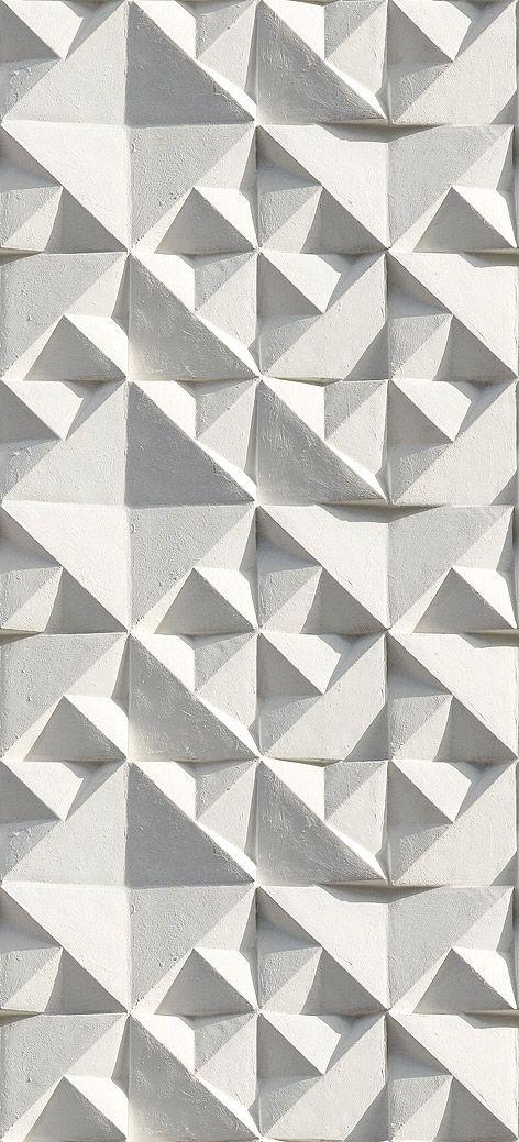 Geometric textured wall design from Ella Doran #wall-library