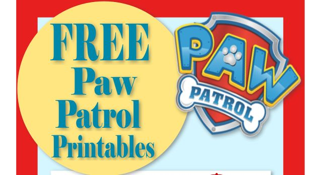 Mama's Gone Crafty: Paw Patrol Birthday- Party- Pup-tastic Ideas!                                                                                                                                                      More