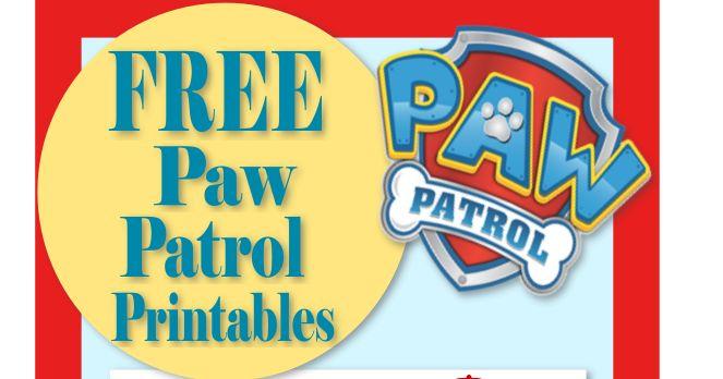 Mama's Gone Crafty: Paw Patrol Birthday- Party- Pup-tastic Ideas!