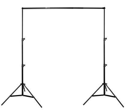 ayex Hintergrundsystem - 2er Set Lampenstative und Crossbar