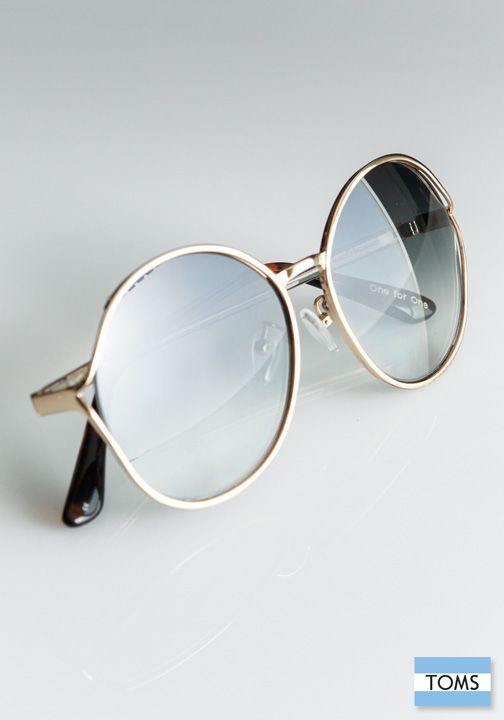 TOMS Blythe Sunglasses not only look great, but also give back in a big way.