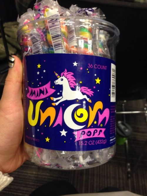 """""""Something with a unicorn on it."""" We may have helped you out a little with this one. Shhh..."""