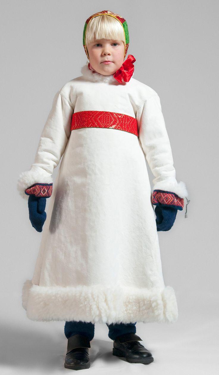 Dräktskick barn, vinterdräkt för pojke - Boda, Sweden. Institutet för språk och folkminnen