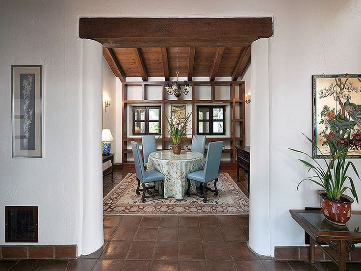 131 Best Images About La House Dining Entry On Pinterest Spanish Spanish Revival And Foyers