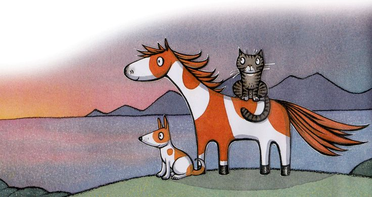 From Noni the Pony by Alison Lester. Love this book, such a Cute story and fun illustrations.