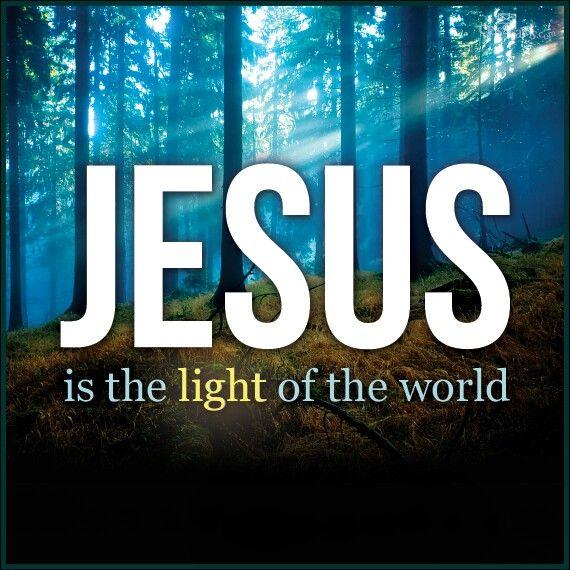 Jesus is our light. . . | Jesus is my King | Pinterest