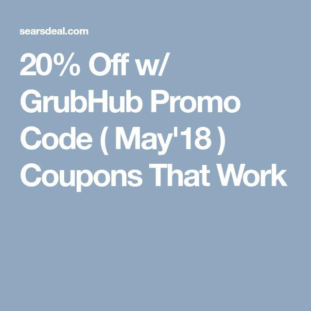 grubhub promo code may 2019