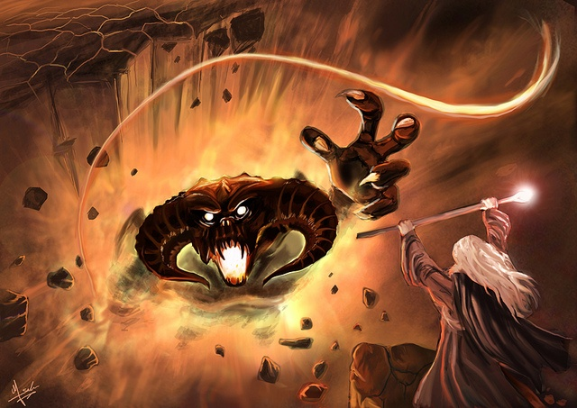 25 best Balrogs images on Pinterest   Middle earth, Lord ... Gandalf Balrog Xp