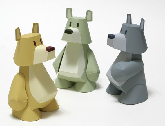 Tetsuya Watabe paper toys                                                                                                                                                     More