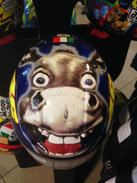 AGV GP Tech Limited Edition #VALENTINOROSSI #DONKEY #vr46