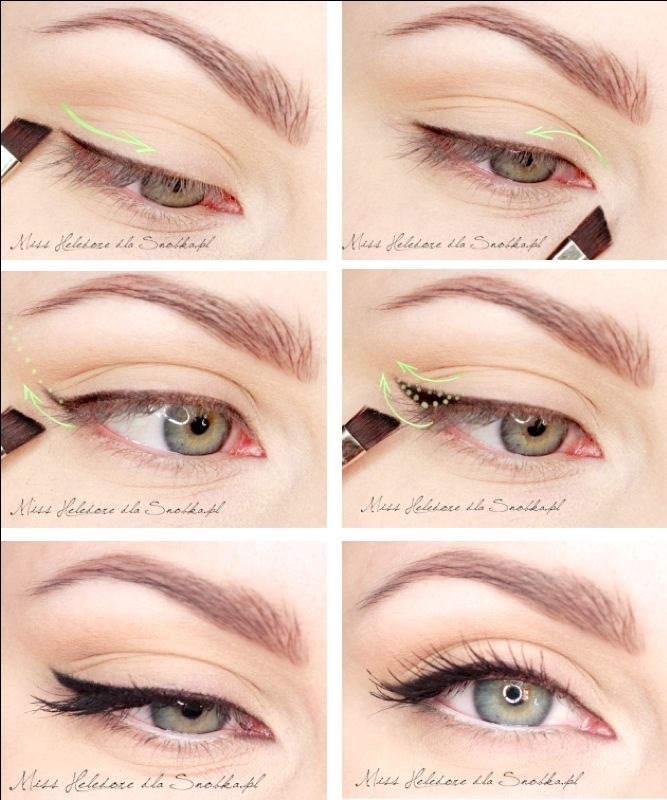 theory of applying black liner...