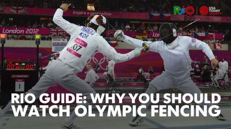 Olympic Pins 2016 Fencing | Rio Guide: Why you should watch Olympic fencing