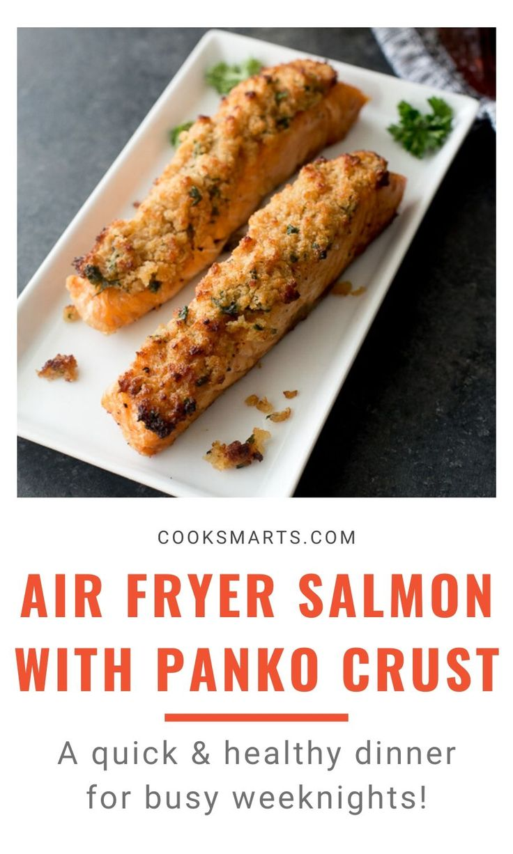 The Best Air Fryer Salmon with Panko Crust Recipe Cook
