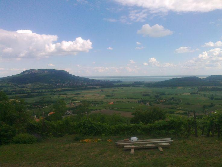 Kilátás a Szent György hegyről - Mennyország Kerthelyiség - View from the Saint George Mount - Hungary