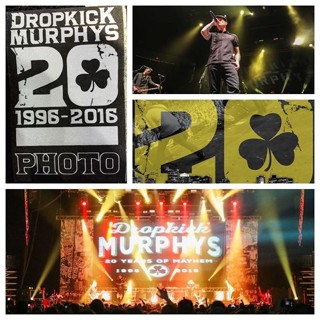 The Dropkick Murphys sounded amazing the final night of their 20th Anniversary tour. The staging and show looked great. Always working hard for our clients with Entertainment, Photographic Support.