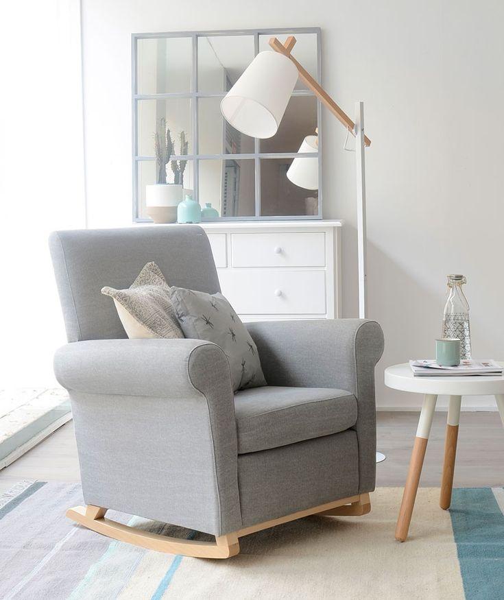 17 mejores ideas sobre silla mecedora de la habitaci n del - Butaca para dormitorio ...