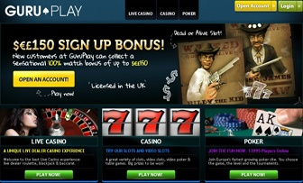 Established and operating in UK within the Smart Gaming Group since 2010 Guru Play Live Casino is regulated by UK Gambling Commission. When we visited the main page of Guru Play we felt its seriousness causing full confidence in us by simply observing ...