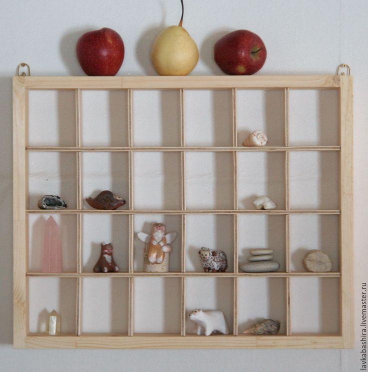 Купить полка румбокс для игрушек и коллекций - полка, румбокс, витрина, полка для коллекций, полка румбокс