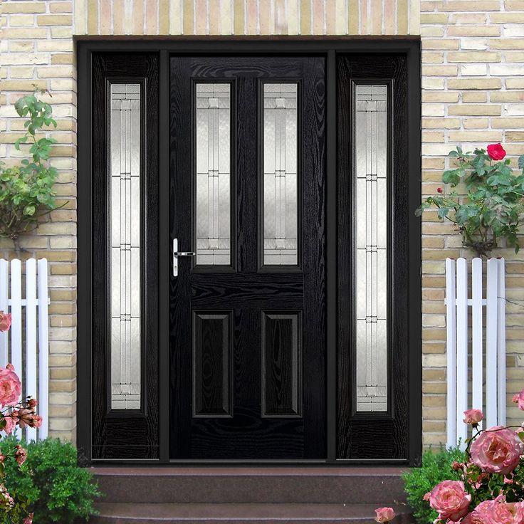 195 best external composite doors images on pinterest. Black Bedroom Furniture Sets. Home Design Ideas