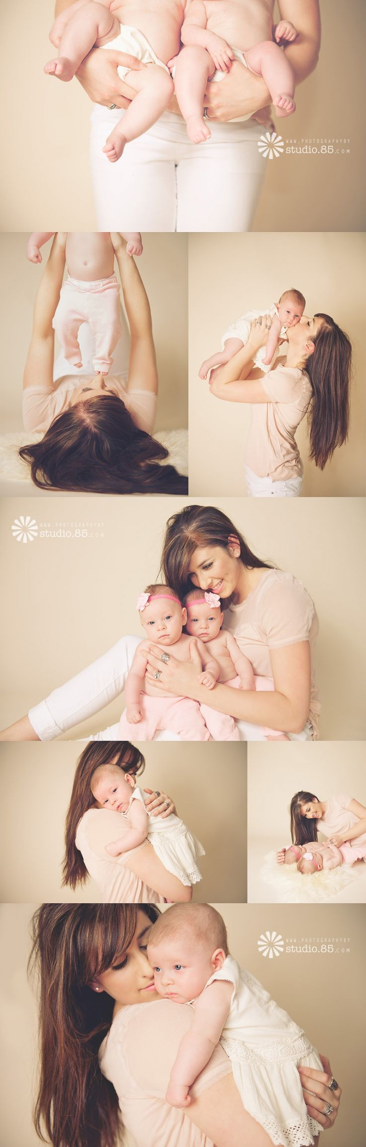 Manhattan KS Infant Photographer | Mommy & Me pics | twin pose ideas, cute baby pics, twin baby pictures