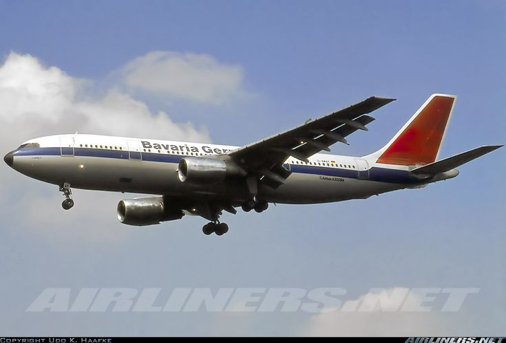 Bavaria Germanair D-AMAY Airbus A300B4-103 aircraft picture