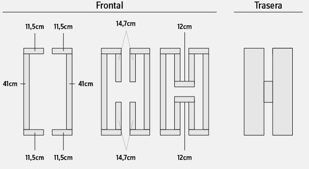 Hágalo Usted Mismo - ¿Cómo hacer macetas verticales para el jardín con forma de letras?