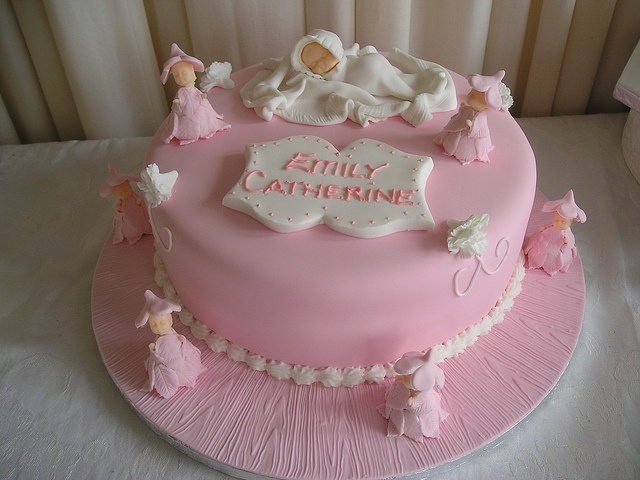 Pixie #Christening #Cake created by Cannaboe Confectionery Check out more #christening #cakes for your little ones special day or as a #unique #gift at http://www.cacamilis.ie/christening/